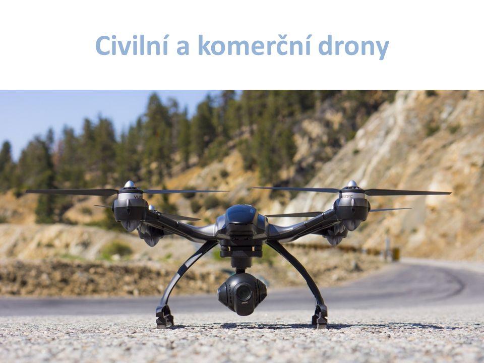 Civilní a komerční drony