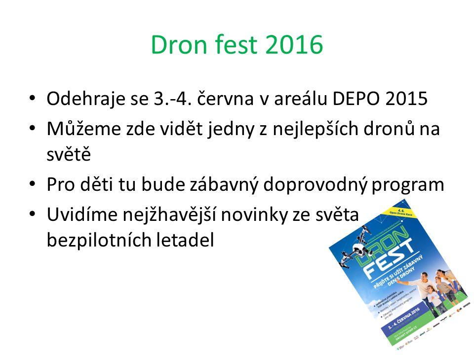 Dron fest 2016 Odehraje se 3.-4.