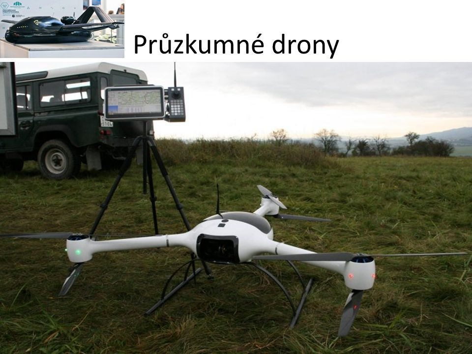 Průzkumné drony