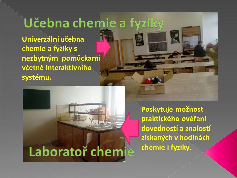 Je určena pro mimoškolní aktivity žáků naší školy.