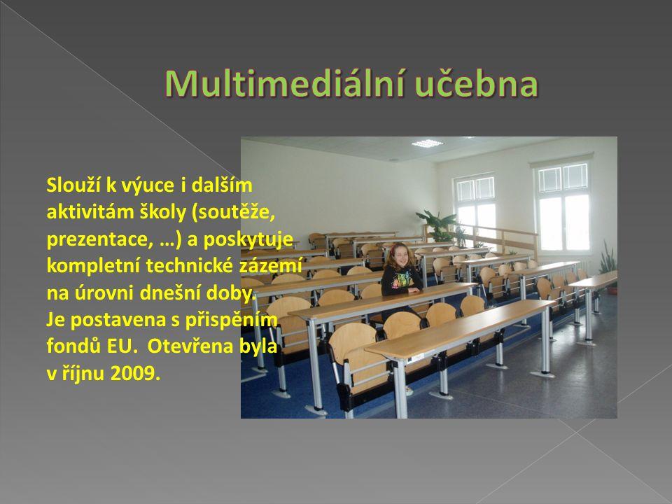 Je otevřena každou hlavní přestávku a pro hodiny literatury nebo čtení.