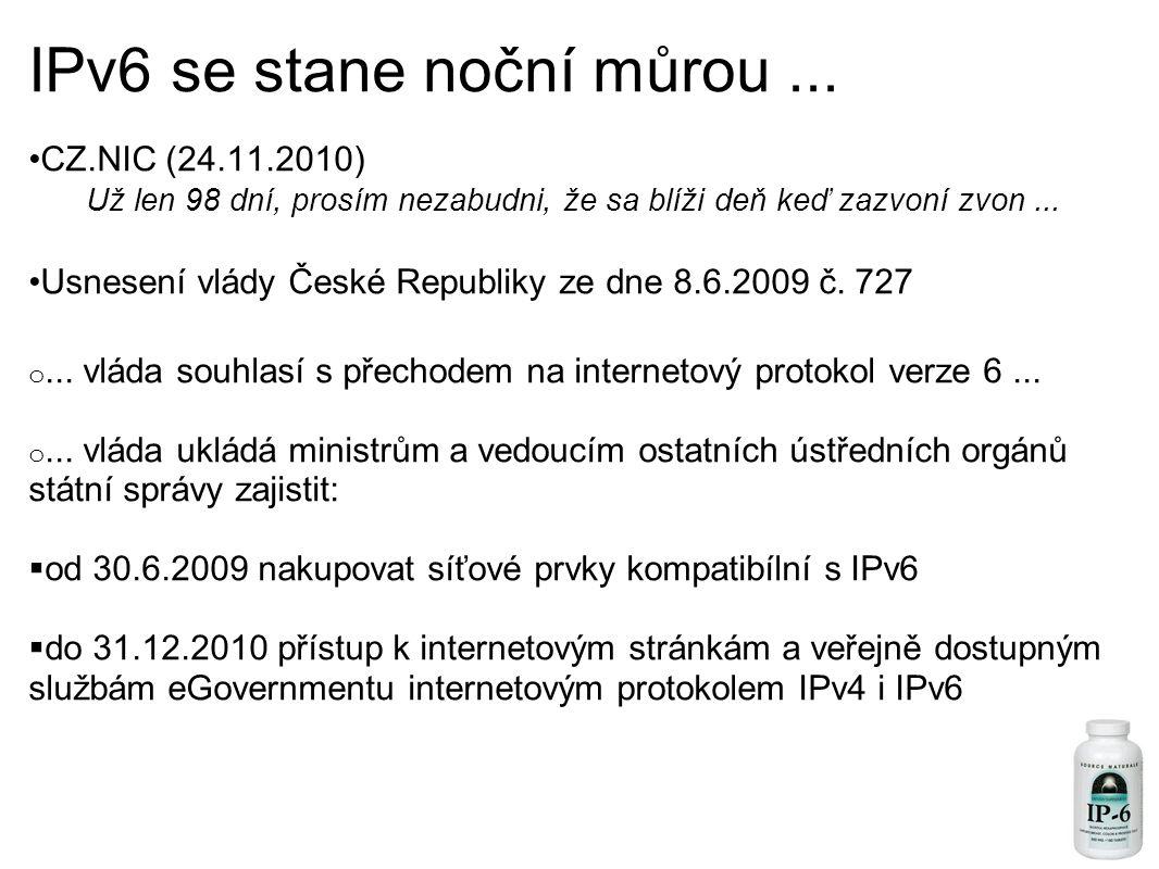 IPv6 se stane noční můrou...
