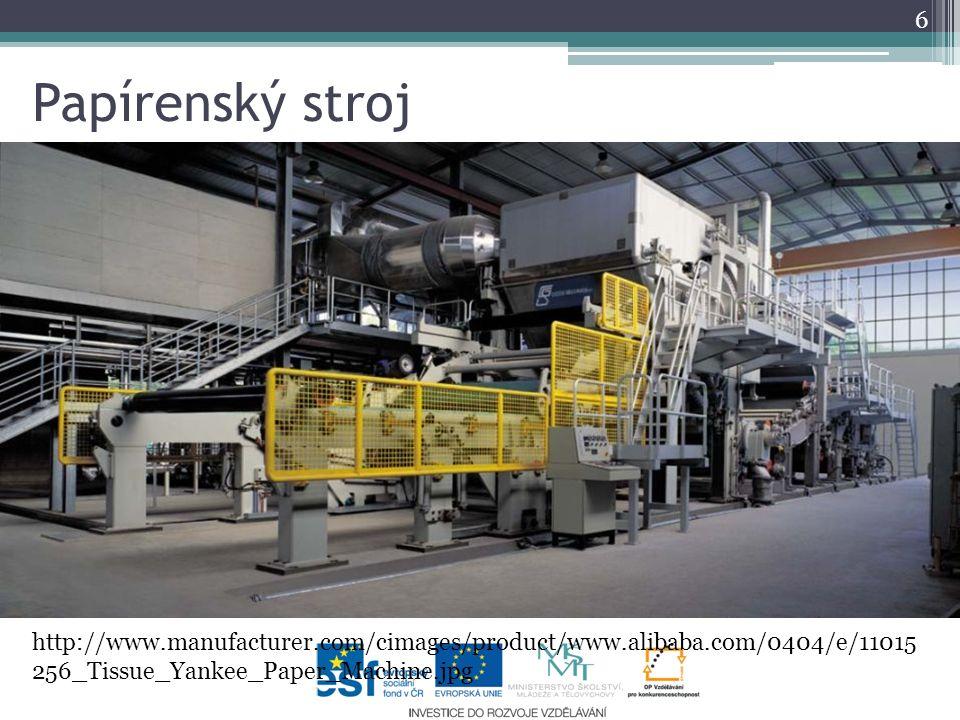 Papírenský stroj 6 http://www.manufacturer.com/cimages/product/www.alibaba.com/0404/e/11015 256_Tissue_Yankee_Paper_Machine.jpg