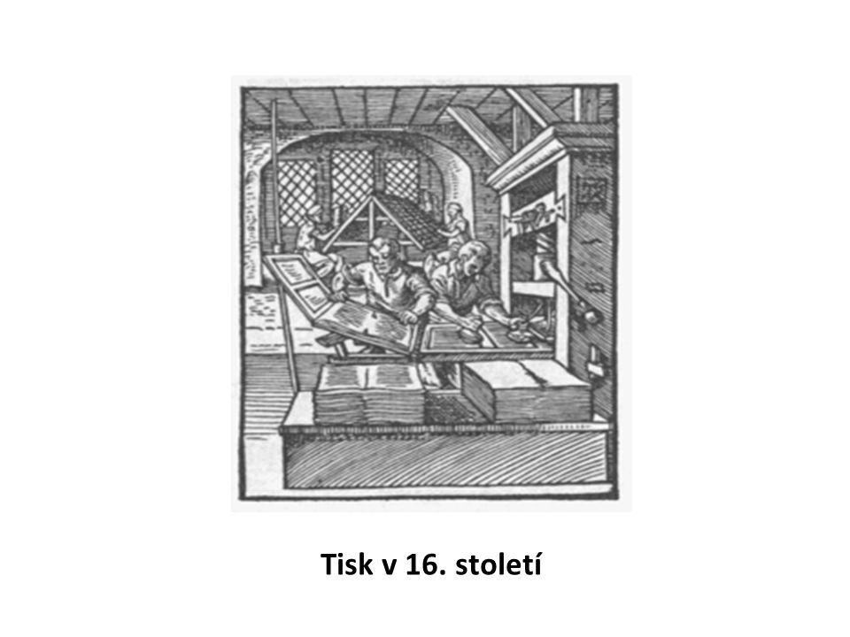 Tisk v 16. století