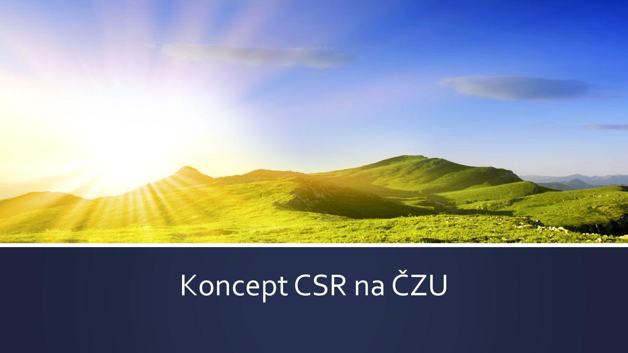 Koncept CSR na ČZU