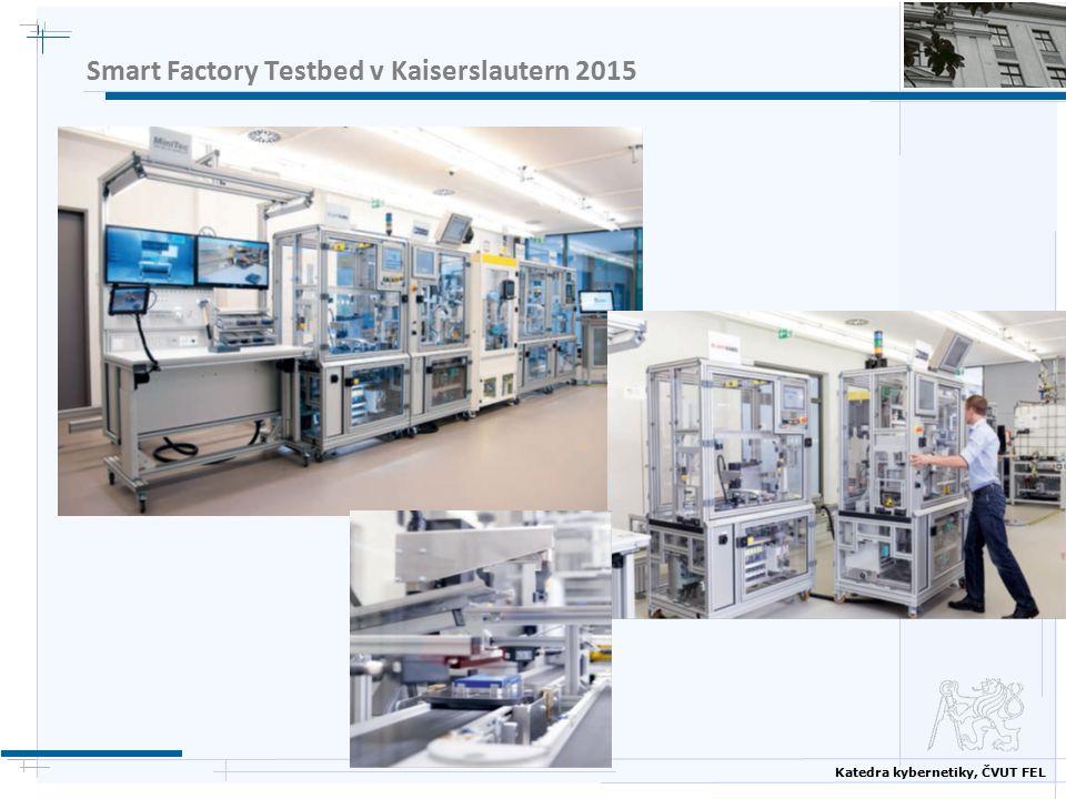 Katedra kybernetiky, ČVUT FEL Smart Factory Testbed v Kaiserslautern 2015