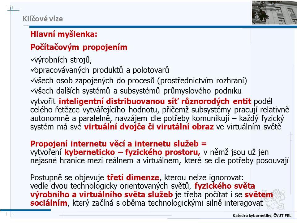 Katedra kybernetiky, ČVUT FEL Klíčové vize 4.