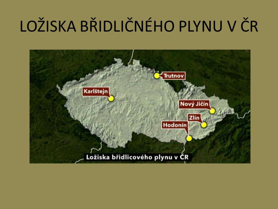 LOŽISKA BŘIDLIČNÉHO PLYNU V ČR
