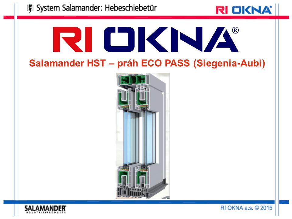 Salamander HST – práh ECO PASS (Siegenia-Aubi)