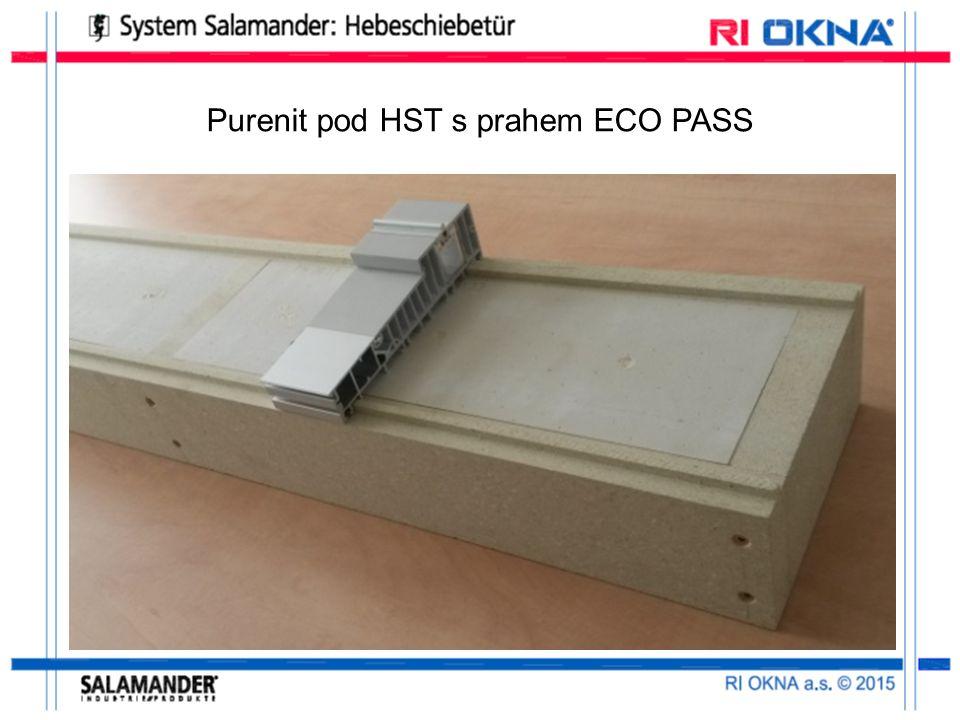 Purenit pod HST s prahem ECO PASS
