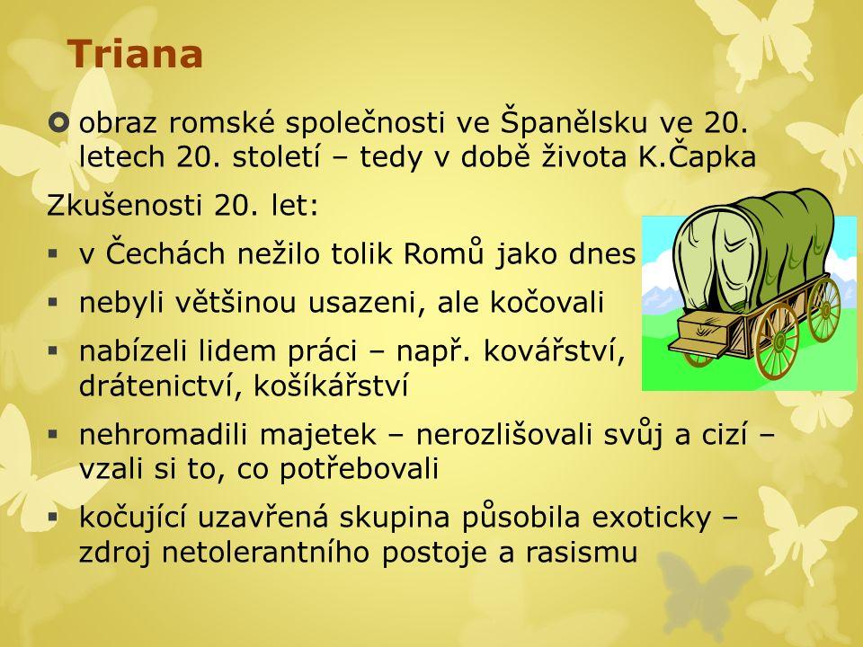Triana  obraz romské společnosti ve Španělsku ve 20.