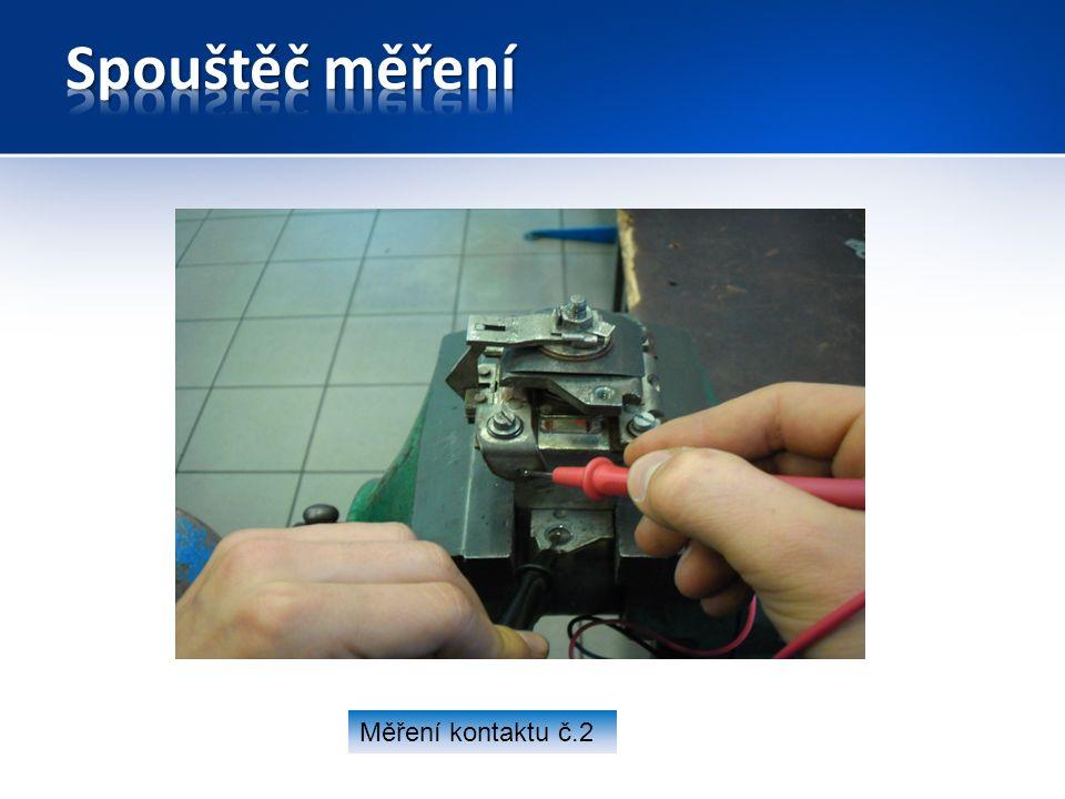 Měření kontaktu č.2