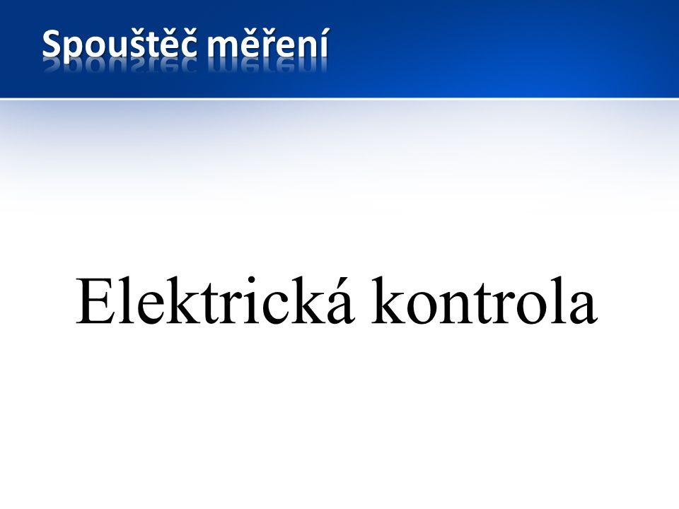 Elektrická kontrola