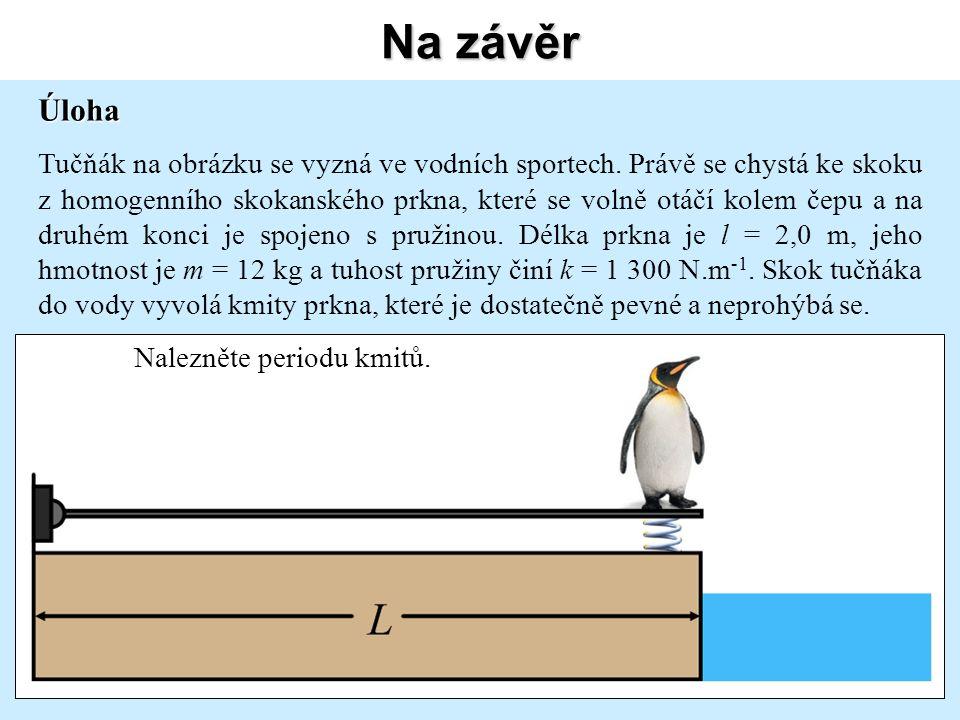 Na závěr Úloha Tučňák na obrázku se vyzná ve vodních sportech.