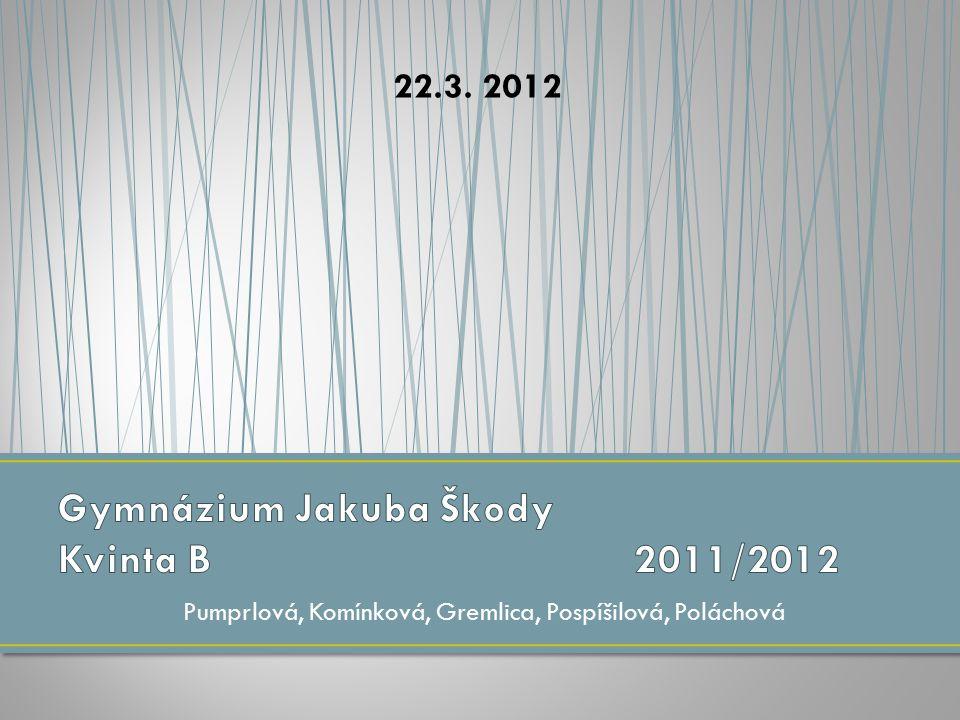 Pumprlová, Komínková, Gremlica, Pospíšilová, Poláchová 22.3. 2012