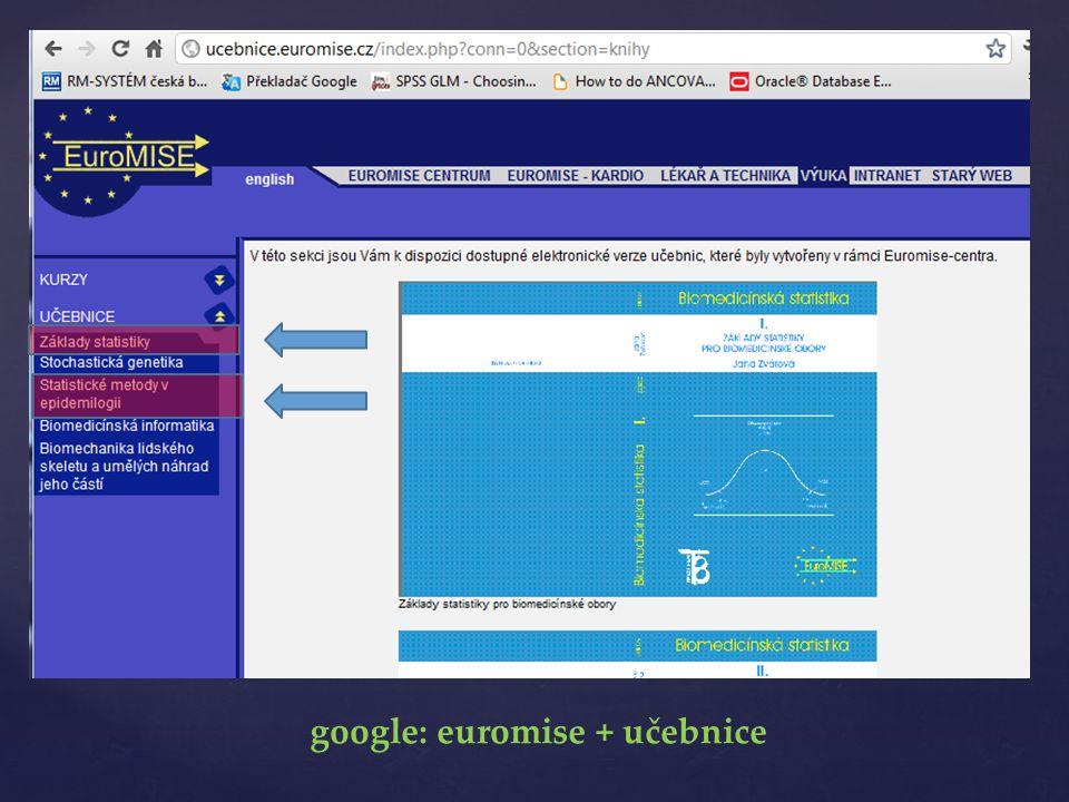 google: euromise + učebnice