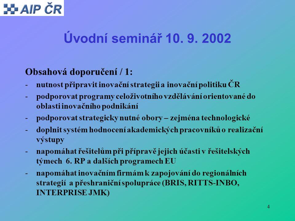 4 Úvodní seminář 10. 9.