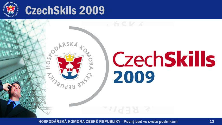 HOSPODÁŘSKÁ KOMORA ČESKÉ REPUBLIKY - Pevný bod ve světě podnikání CzechSkils 2009 13