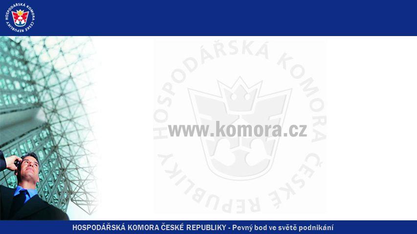 HOSPODÁŘSKÁ KOMORA ČESKÉ REPUBLIKY - Pevný bod ve světě podnikání EuroSkills 2008 4