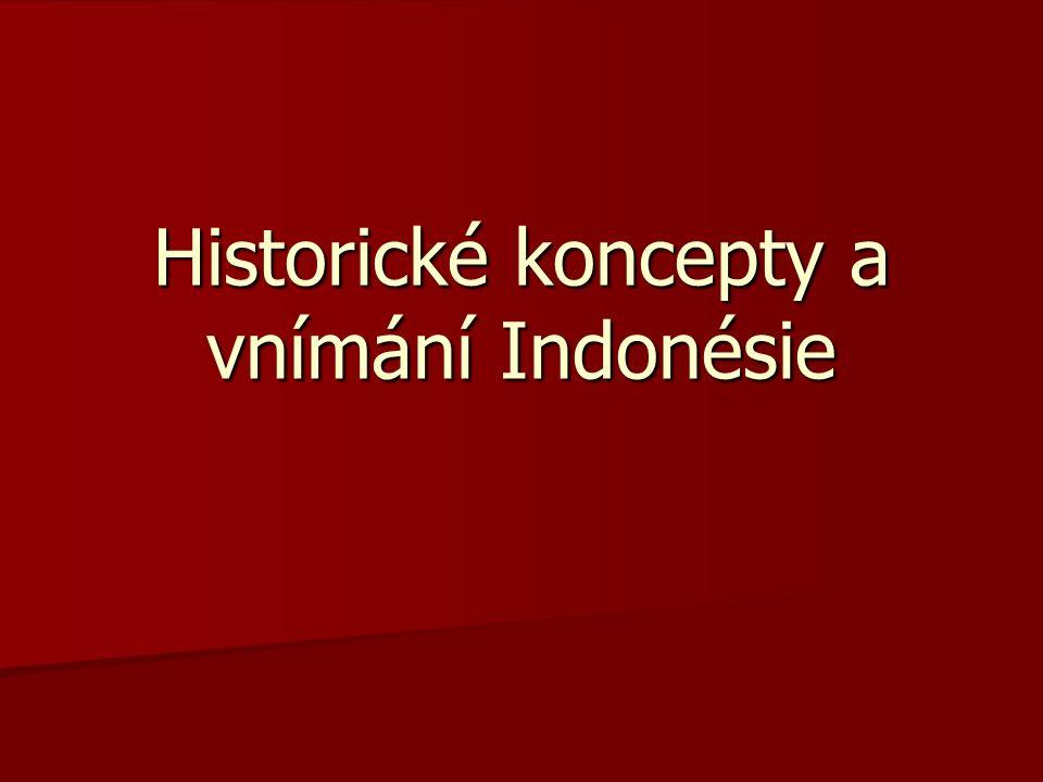 Historické koncepty a vnímání Indonésie