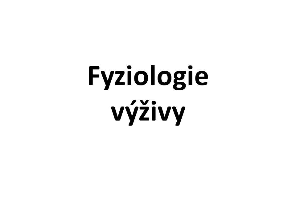 Fyziologie výživy