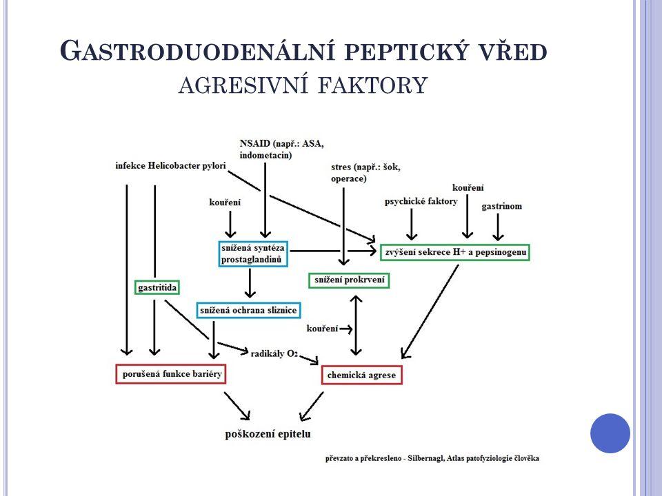 P ROKINETIKA ZÁSTUPCI metoklopramid je D 2 – antagonista, 5-HT 4 – agonista a senzibilizuje M-receptory k Ach proniká přes HEB (extrapyramidové NÚ v CNS, hlavně u dětí a mladších 30 let) má výrazné antiemetické účinky (větší než domperidon) kontraindikován v 1.trimestru těhotenství a při laktaci NÚ se objevují vzácně → akutní dystonie, parkinsonismu a tardivní dyskinéze (zvláště u starších pacientů a po vysokých i.v.