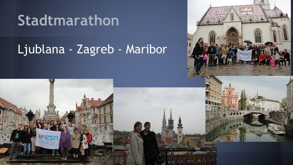 Stadtmarathon Ljublana - Zagreb - Maribor