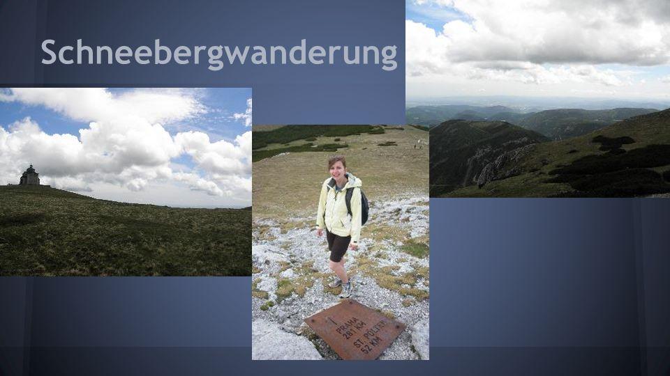 Schneebergwanderung