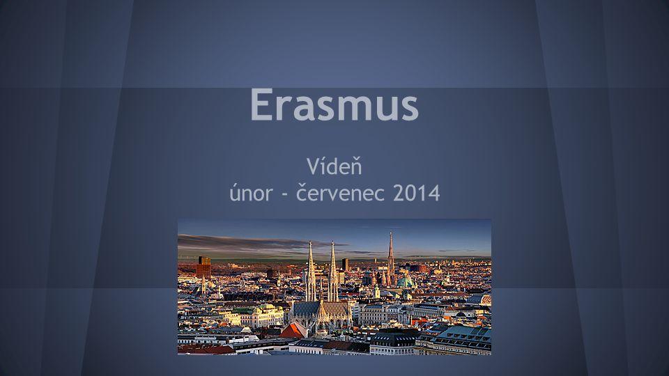 Erasmus Vídeň únor - červenec 2014