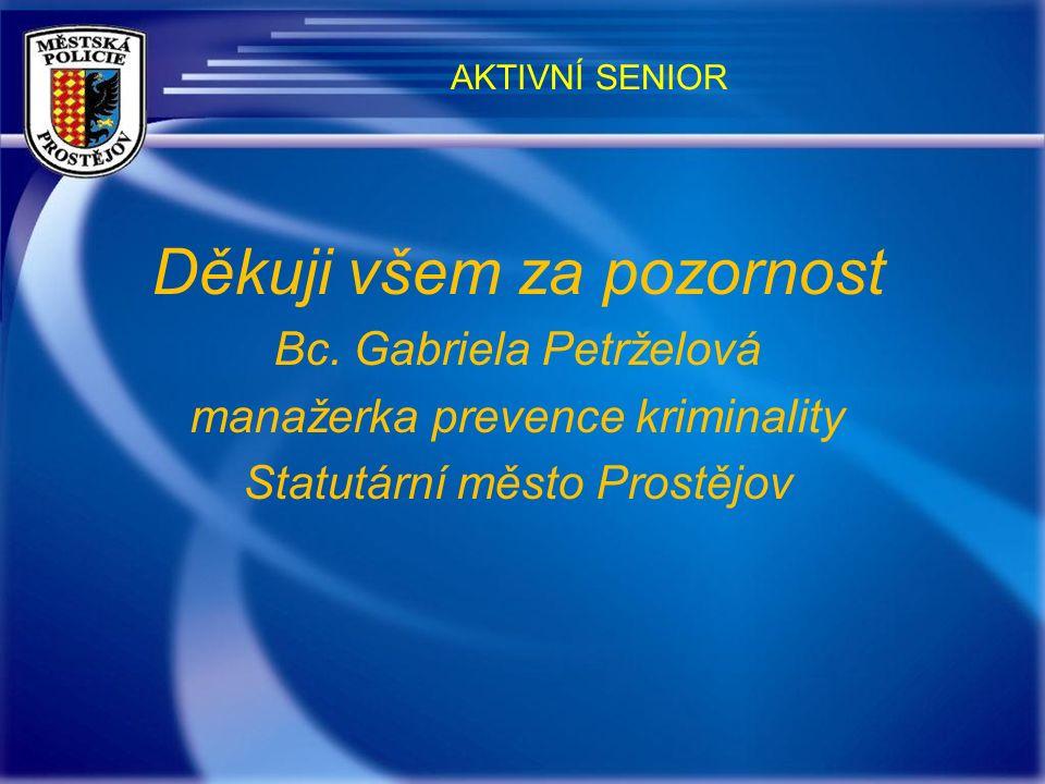 BEZPEČNOSTNÍ ŘETÍZKY Především senioři bydlící na katastru města Prostějova mají možnost získat bezpečnostní řetízek na dveře.