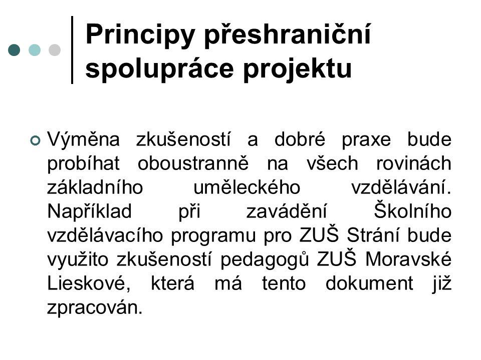 Vytvoření ŠVP v rámci této aktivity se od 1.4.2011 tvoří školní vzdělávají program pro ZUŠ Strání, na kterém se podílí vedoucí projektu, koordinátor projektu ČR a asistent vedoucího projektu ze strany VP.