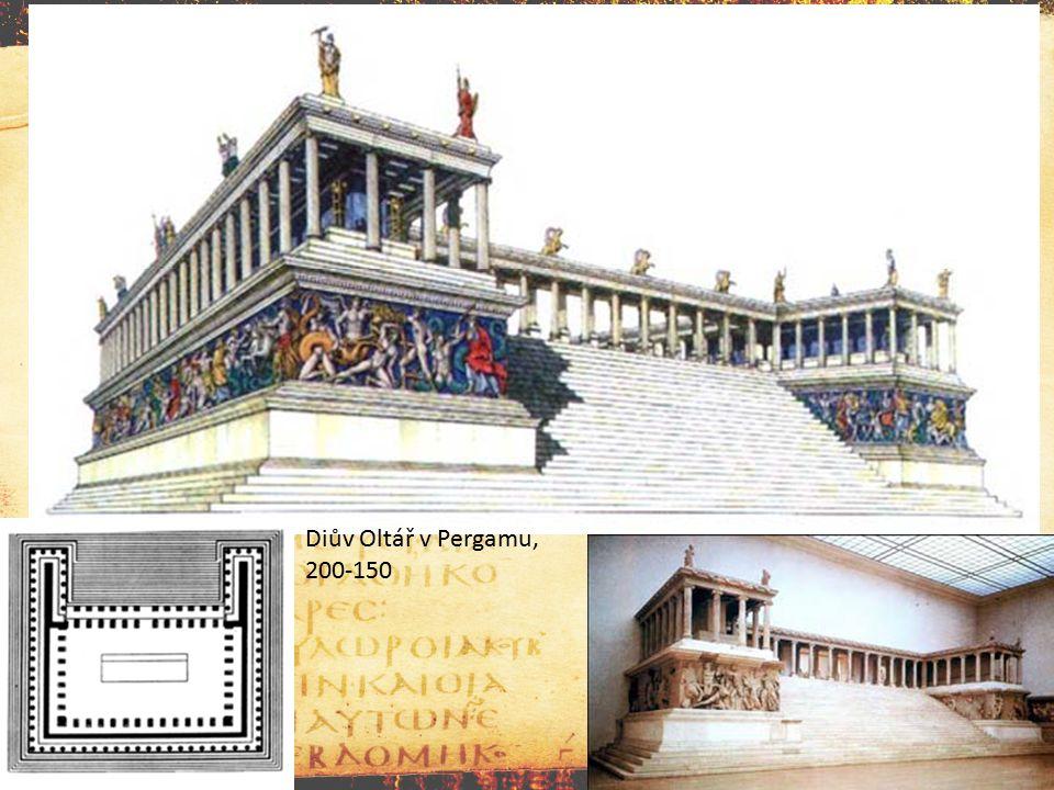 Diův Oltář v Pergamu, 200-150
