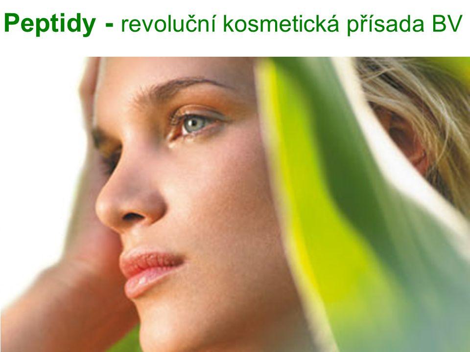 Peptidy - revoluční kosmetická přísada BV