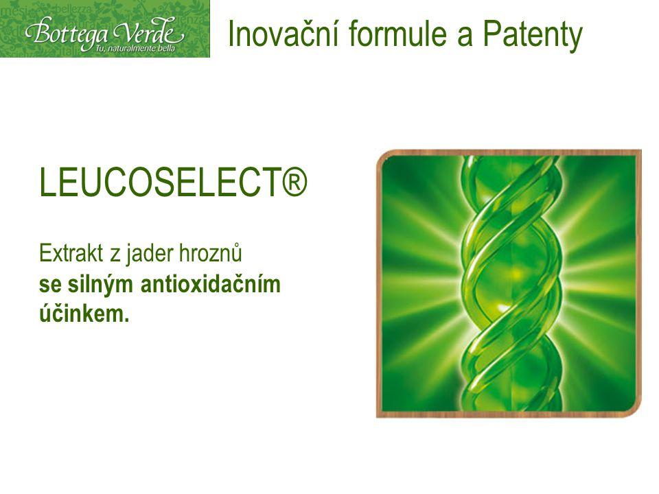 LEUCOSELECT® Extrakt z jader hroznů se silným antioxidačním účinkem. Inovační formule a Patenty