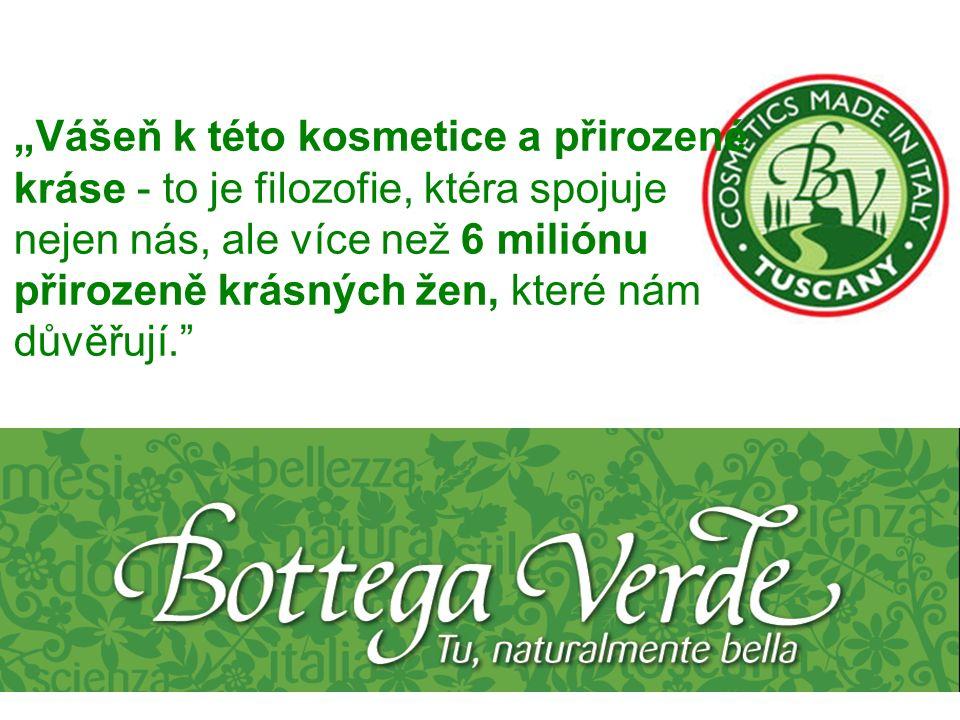 Proč zrovna Bottega Verde. Více než 40 let zkušeností.