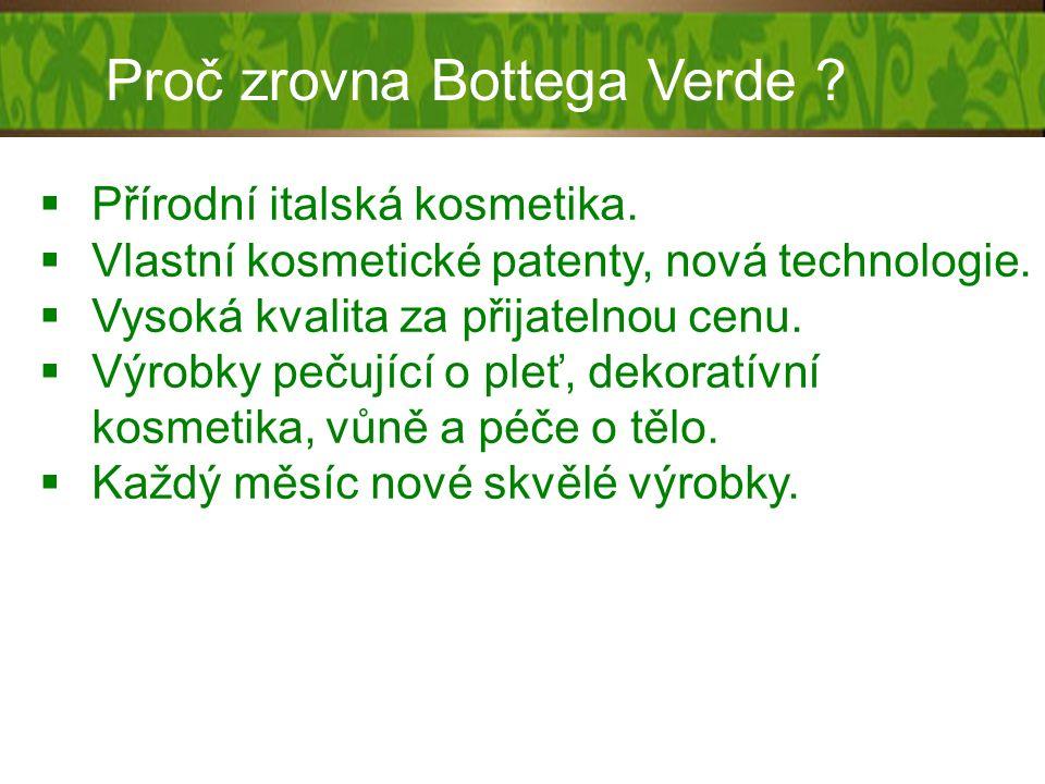 PLURIDEFENCE® Revoluční patentovaná složka od Bottega Verde.