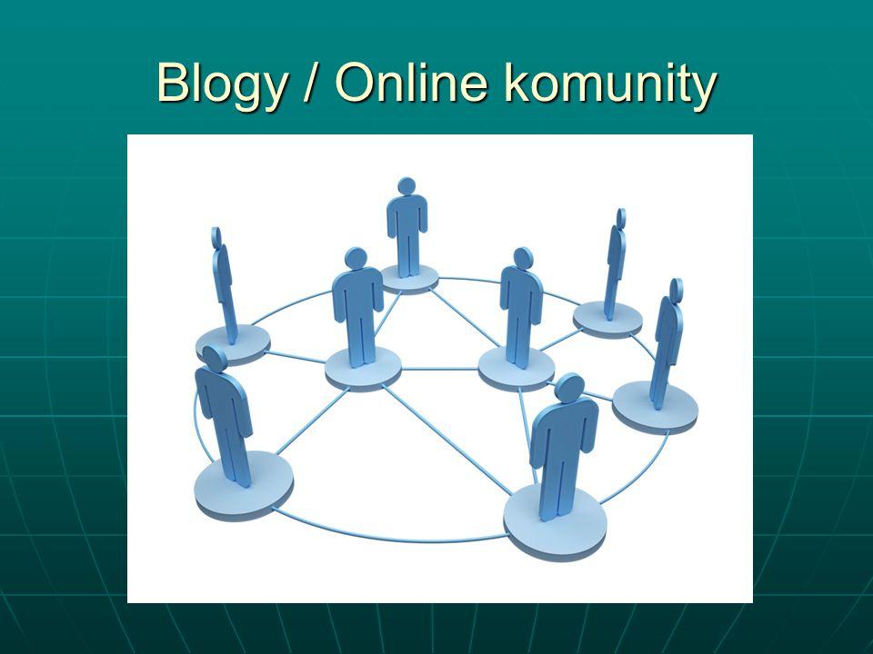 Blogy / Online komunity