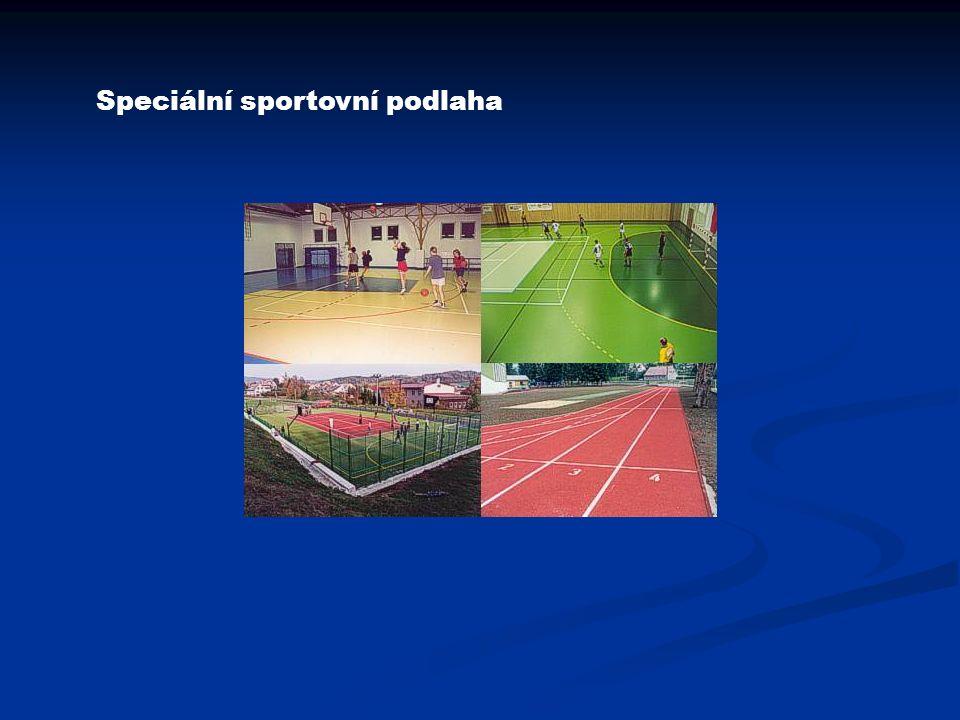 Speciální sportovní podlaha