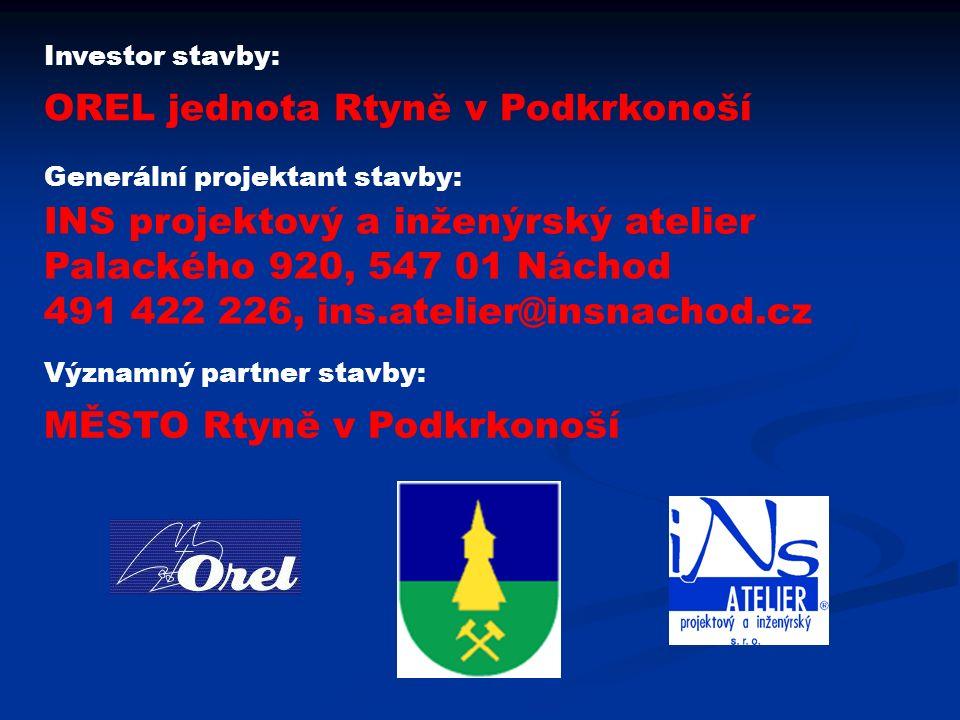 Úmístění stavby: ČESKÁ REPUBLIKA