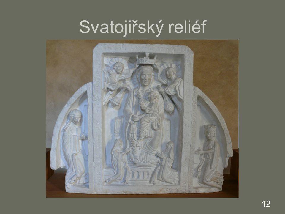 Svatojiřský reliéf 12