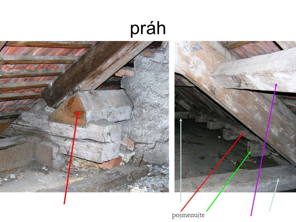 ÚLOHA Nakreslete schematicky půdorys krovu sedlové střechy s krátčaty.