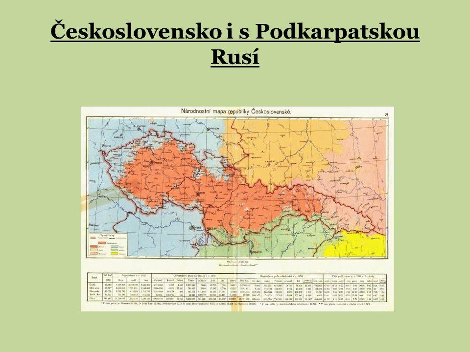 Československo i s Podkarpatskou Rusí