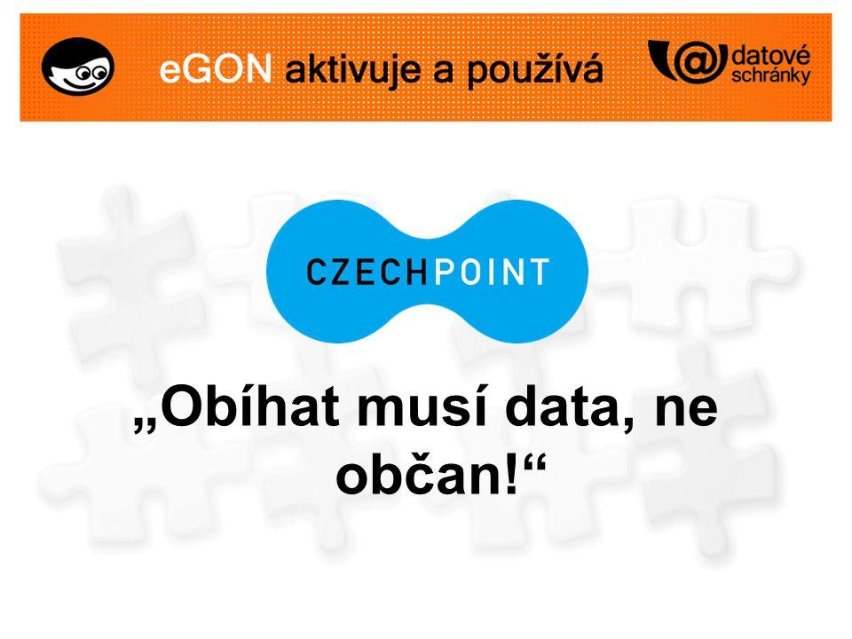 """""""Obíhat musí data, ne občan!"""""""