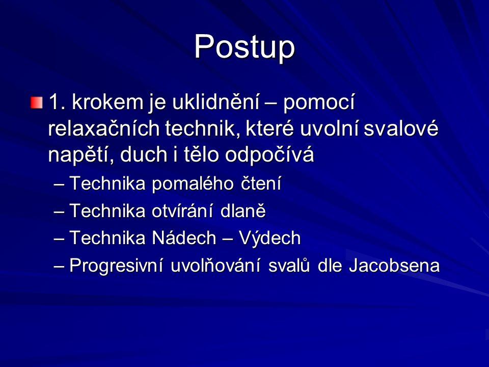 Postup 1.