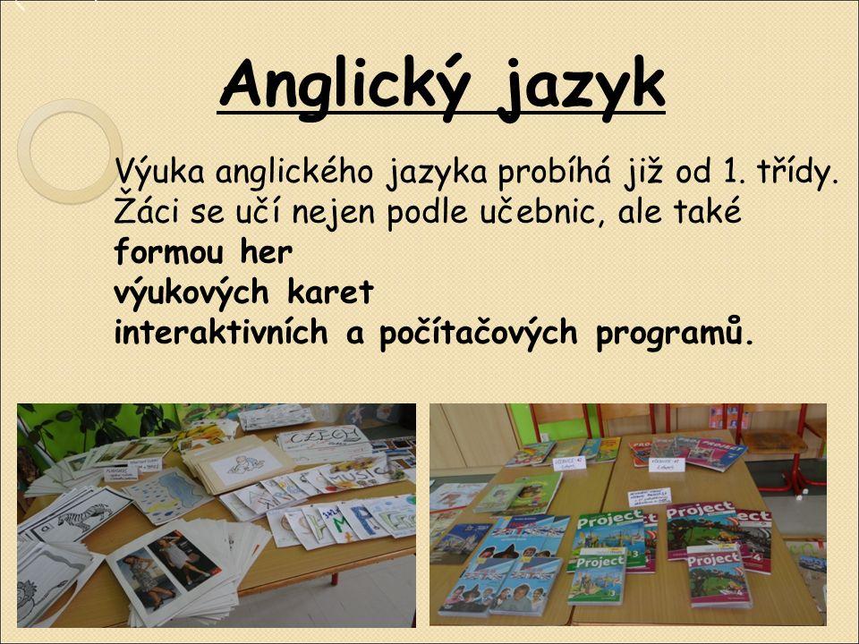 Cizí jazyky Na naší škole se v současné době vyučují dva cizí jazyky – Anglický jazyk Německý jazyk Oblíbenými činnostmi jsou projektová a skupinová vyučování, tvorba plakátů nebo vlastních žákovských portfolií.