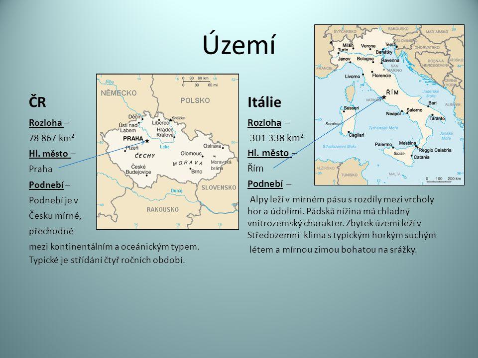Vodstvo Českým územím prochází hlavní evropské rozvodí oddělující úmoří Severního, Baltského a Černého moře.