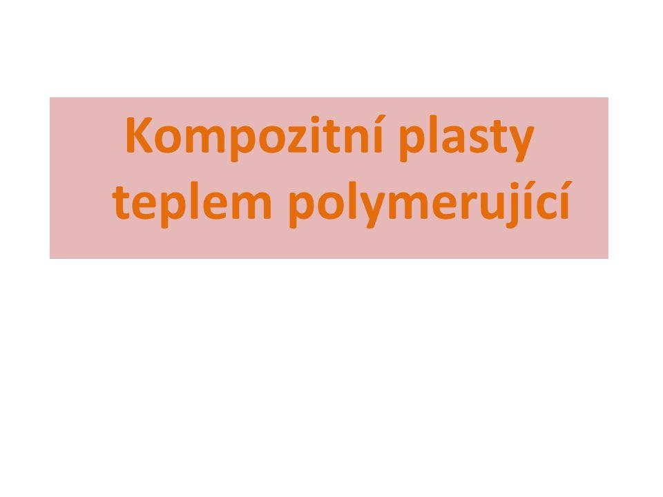 Kompozitní plasty teplem polymerující