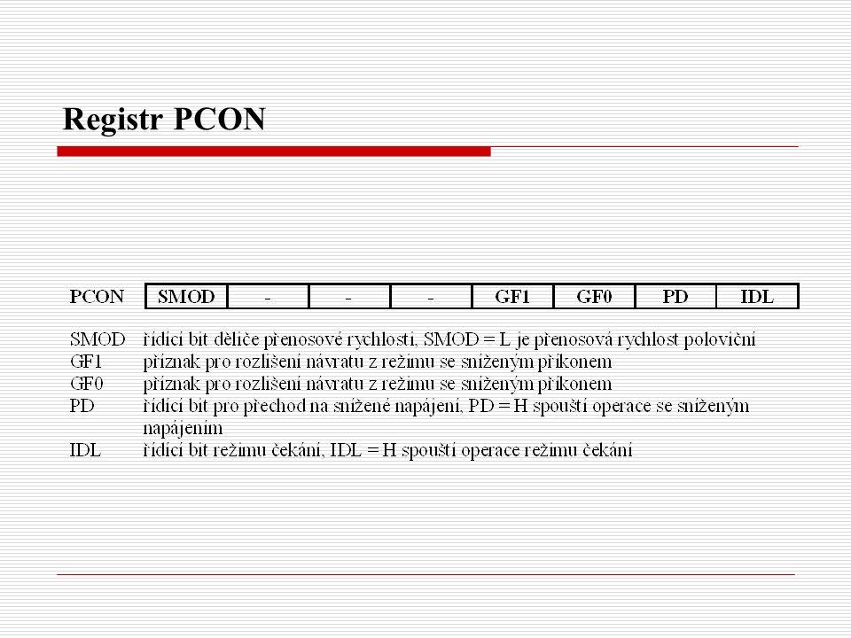 Registr PCON
